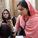 A female doctor with the International Medical Corps examines a woman patient at a mobile health clinic in Pakistan by DFID - UK Department for International Development
