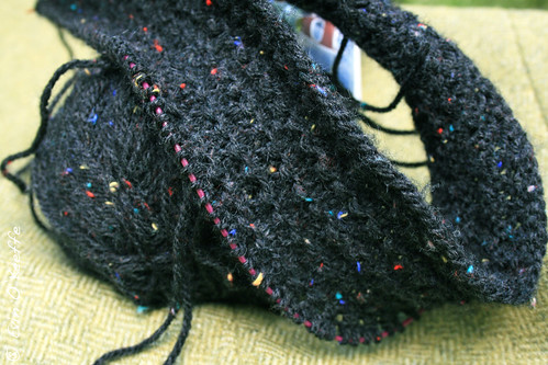 Ingenue from Custom Knits using Tivoli Buzz (Acrylic Tweed)