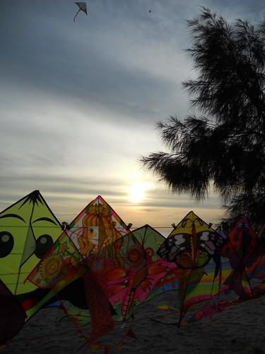 sunset malacca klebang