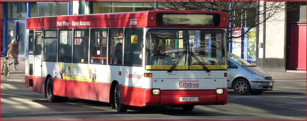 Plymouth Citybus 010 N110UTT