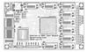 Spartan-6 BGA test board - top components