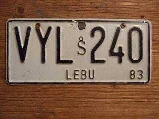 CHILE, LEBU 1981 ---#VYL-240