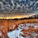 Winter Sky at Sunset by Jim Crotty