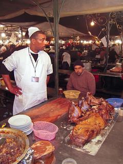 A food stall, Djemma el Fna, Marrakesh