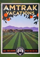 Amtrak Vacations Poster