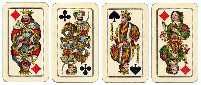 vintage playing cards flickr photo sharing