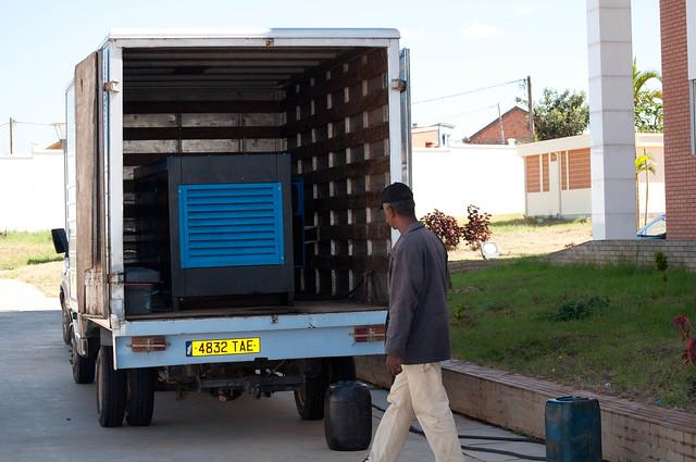 Alimenter Un Food Truck Prise Industriel