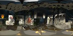 "Portal 2 - Shrine to Chell (36x18"")"