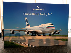 Cathay Pacific 747 Farewell Flight