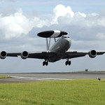 Royal Air Force E3D Sentry AWACS Reconnaisance Aircraft