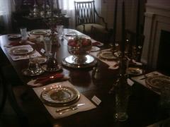 set for Thanksgiving