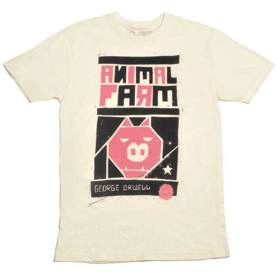 Animal Farm Tee by Out of Print