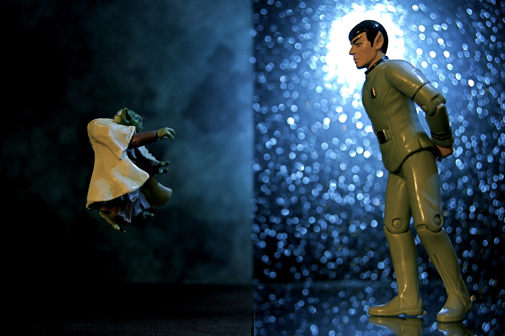 Yoda vs. Mr. Spock (336/365)
