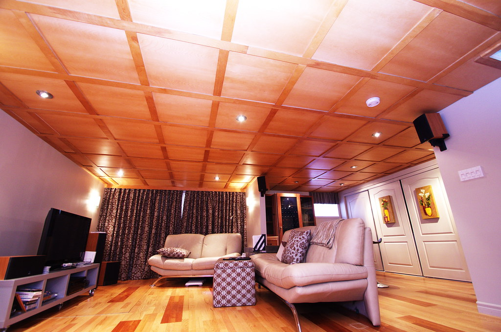 La r f rence en for Plafond suspendu bois