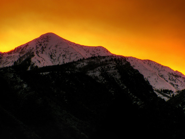 Provo Peak Sunrise