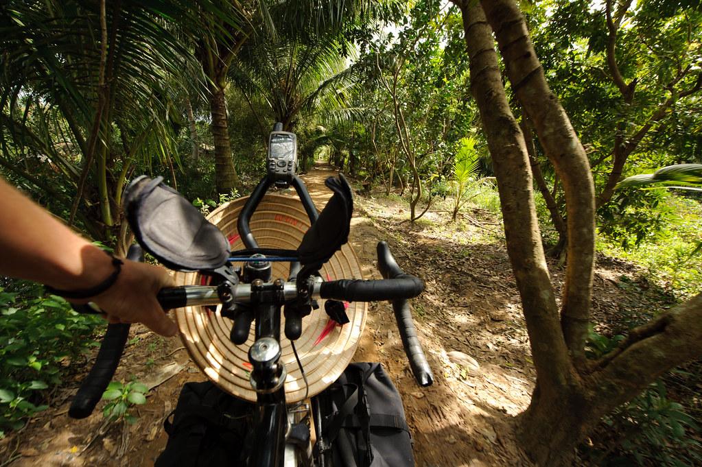 Tyler Riding in Vietnam