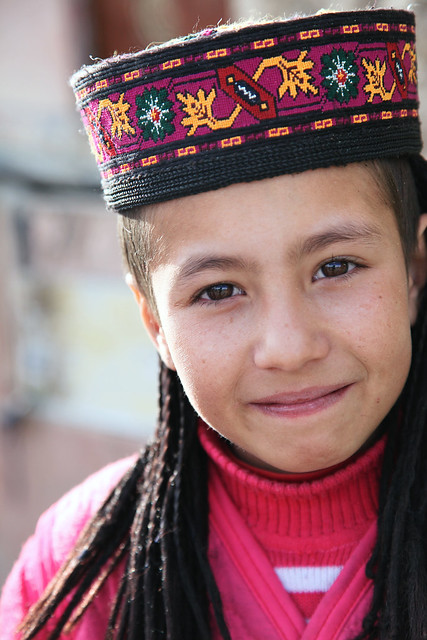 タシュクルガン、タジク族の少女