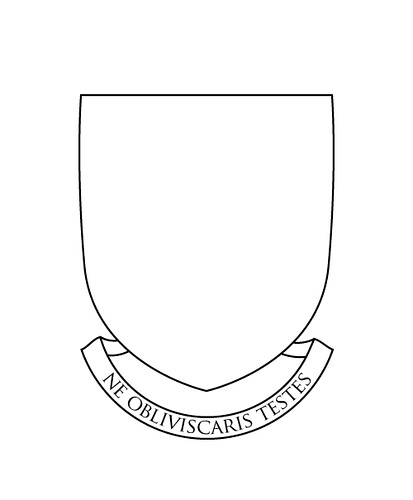 blank coat of arms banner - photo #17