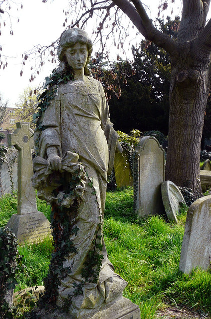 At Brompton Cemetery