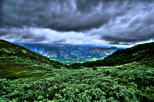 Mountains of Norway HDR