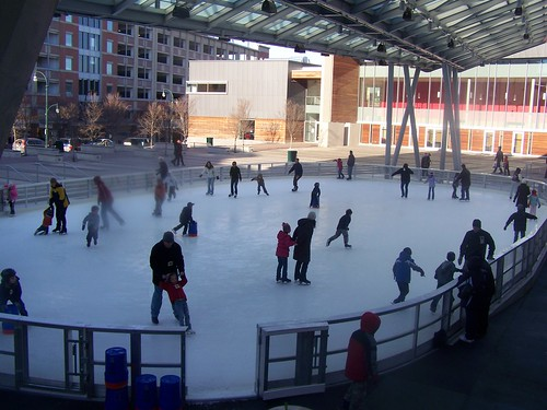 Ice skating rink, Silver Spring  Maryland