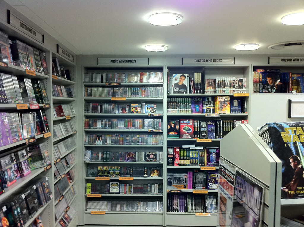Forbidden Planet, Doctor Who section