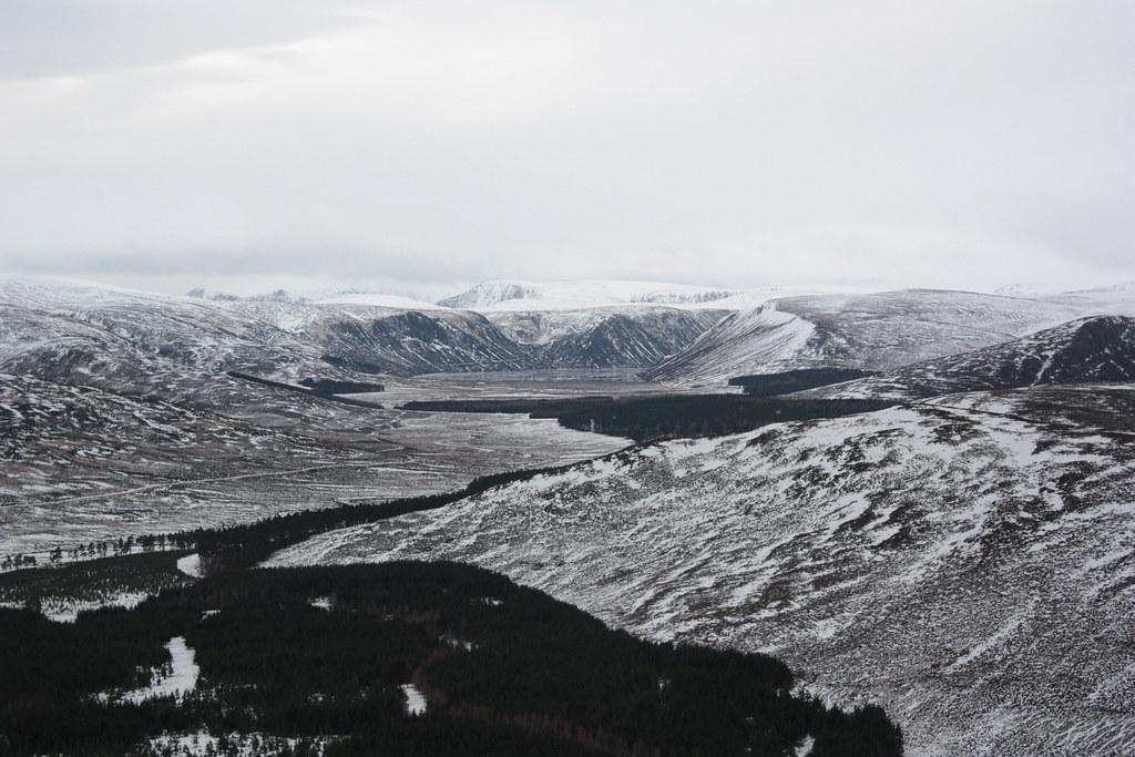 Frozen Loch Muick
