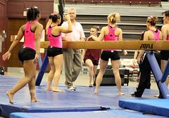 TWU Gymnastics Beam