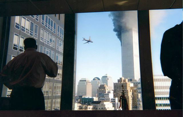 Flight 175, 9-11, Second Plane, South Tower, by Will Nuñez