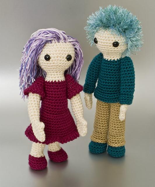 Complete Amigurumi Collection : Amigurumi Girl and Boy Flickr - Photo Sharing!