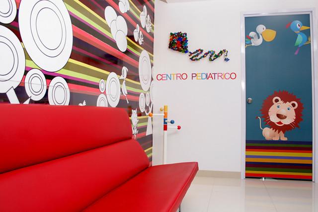 Recepcion Consultorio Pediatrico  Puerta De Hierro  Centro Pediatrico
