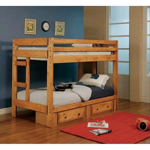261 Bunk bed with under dresser $435