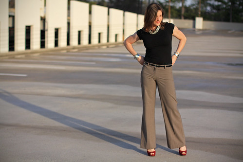 sunset fashion highheels blogger wideleg