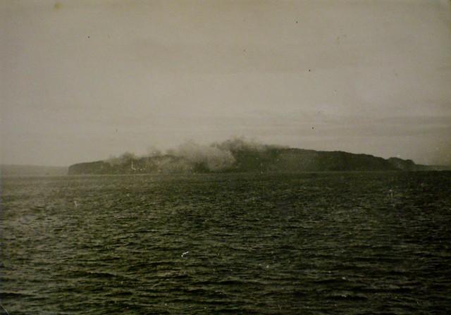 THE PACIFIC WAR: Feb. 15 1945 - Corregidor, 'The Gibraltar of the East,' takes a pounding. Collection of Alan Meade, RAN 1943-1946.