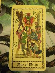 significado cartas numero 5 no tarot