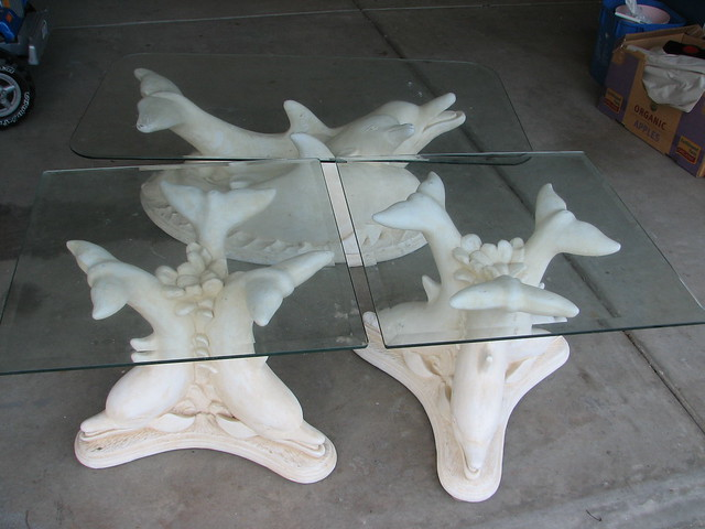 Dolphin Coffee Table Set Flickr Photo Sharing