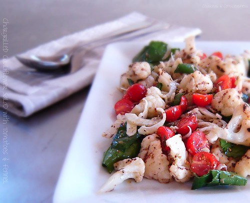 Chargrilled Cauliflower Salad 1