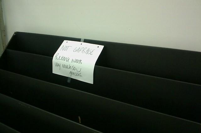 Not garbage!