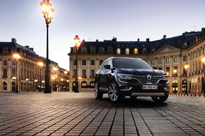 Самый дорогой Renault Koleos Initiale Paris