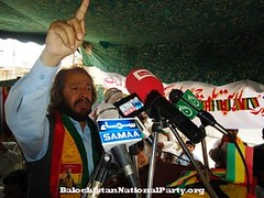 Shaheed Habib Jalib Baloch in Khuzdar