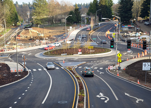 Olympia Roundabout Looking East