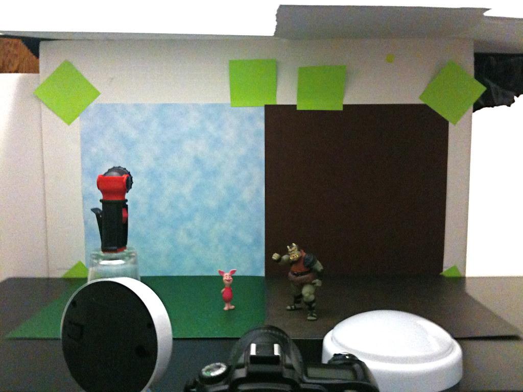 Piglet vs. Gamorrean Guard Setup