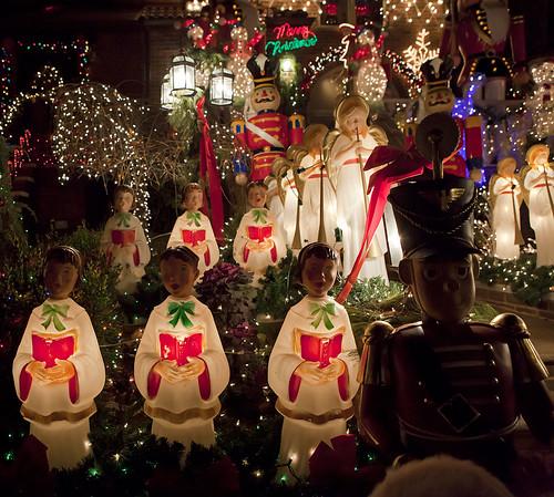 Christmas Decoration, Dyker Heights, Brooklyn, New York City, December 11, 2010.