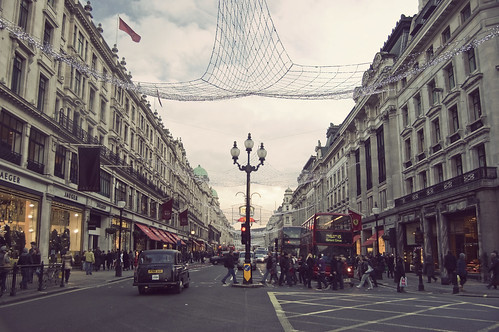 oxford street christmas decor