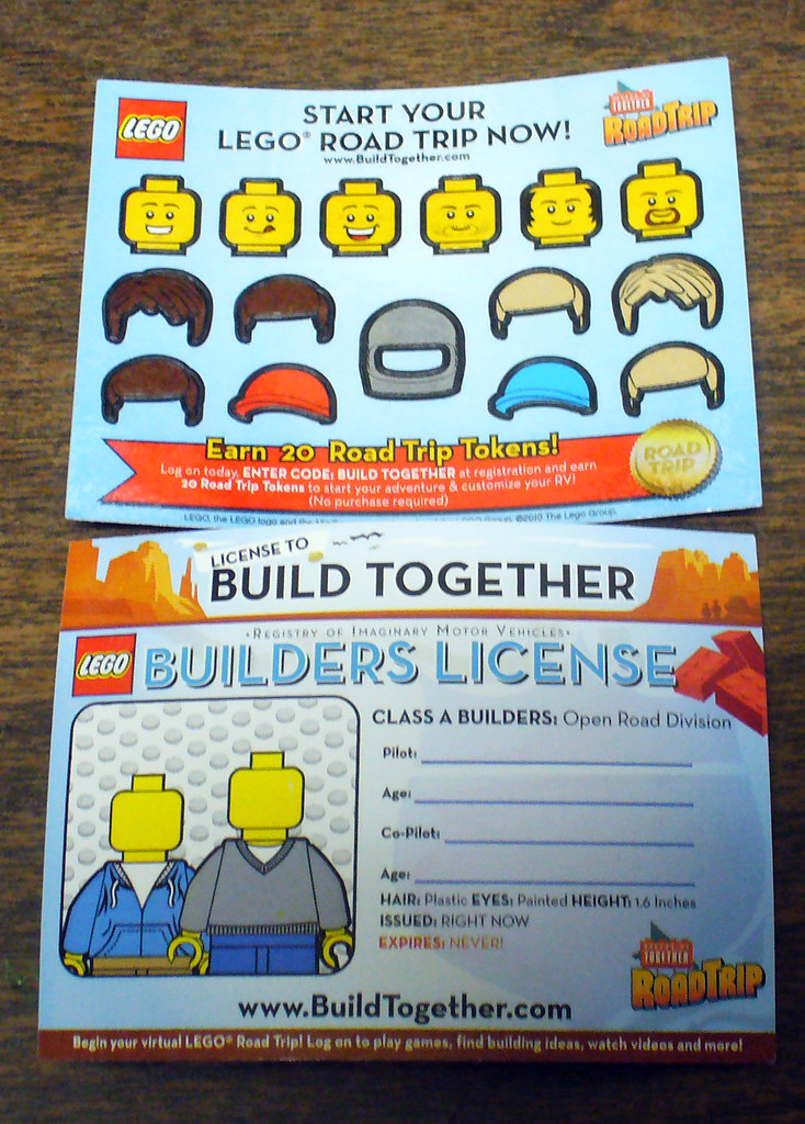 LEGO Build Together   Got this at the movie theater  This is