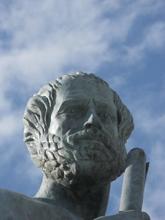 Image of Άγαλμα Αριστοτέλη. statue greece 100views thessaloniki 400views 300views 200views 50views aristotle auth θεσσαλονίκη άγαλμα απθ αριστοτέλησ aristotleuniversityofthessaloniki αριστοτέλειοπανεπιστήμιοθεσσαλονίκησ
