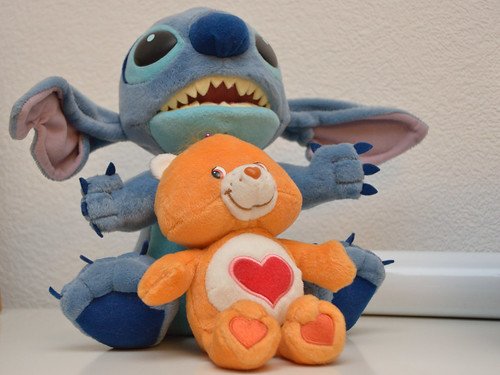Care Bear vs Stitch
