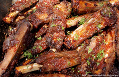 spare ribs, roasting, grilling, barbecue, pork ribs, goat meat, food, dish, cuisine, cooking, lamb and mutton,