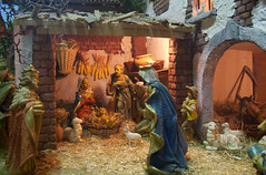 christmas decoration(0.0), decor(1.0), ancient history(1.0), manger(1.0), nativity scene(1.0),