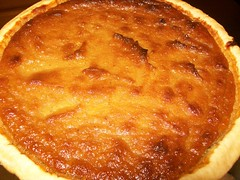 pie, sweet potato pie, baked goods, custard pie, tart, food, dish, tarte tatin, dessert, cuisine, quiche,